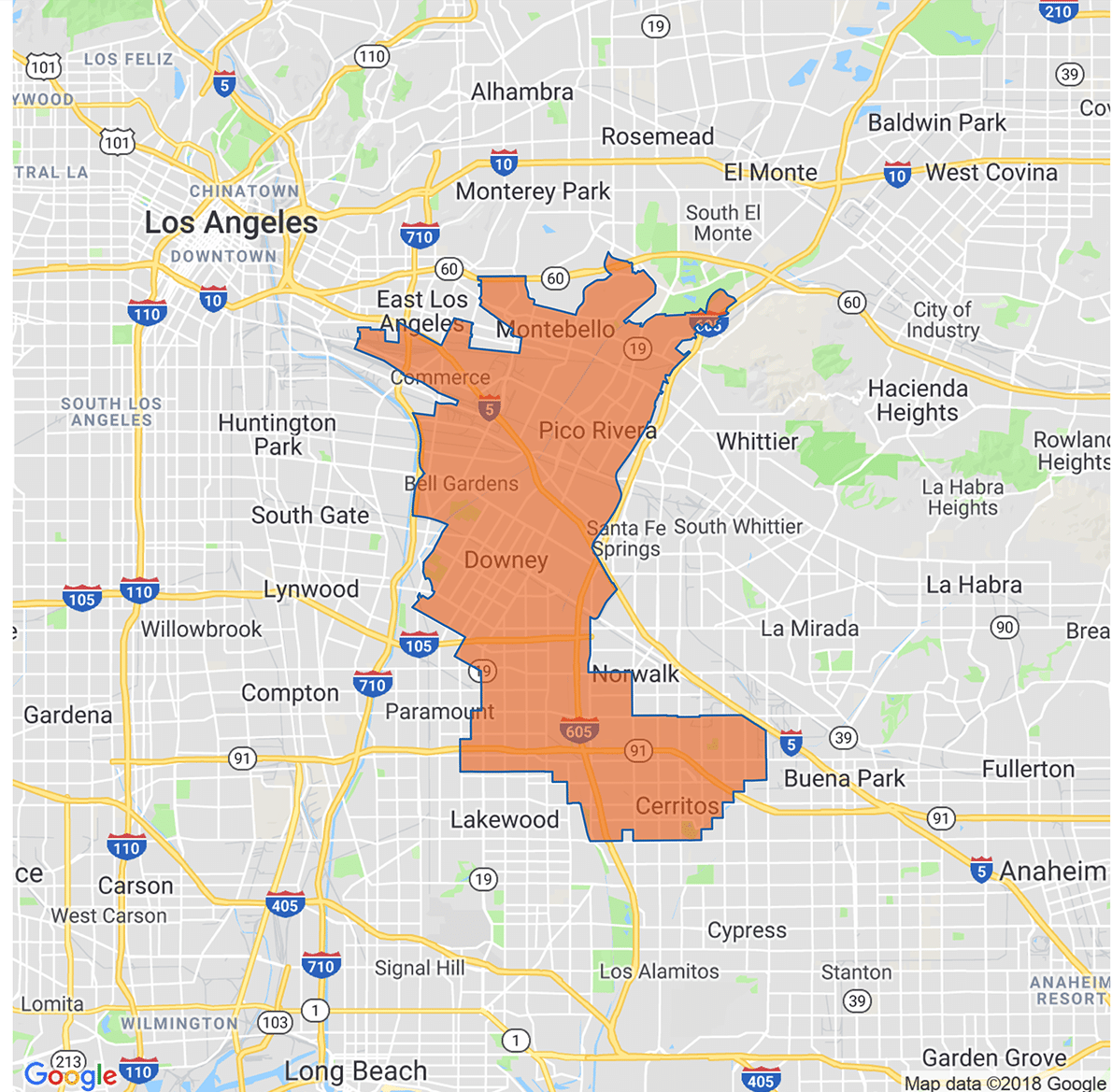 image of Assembly District 58
