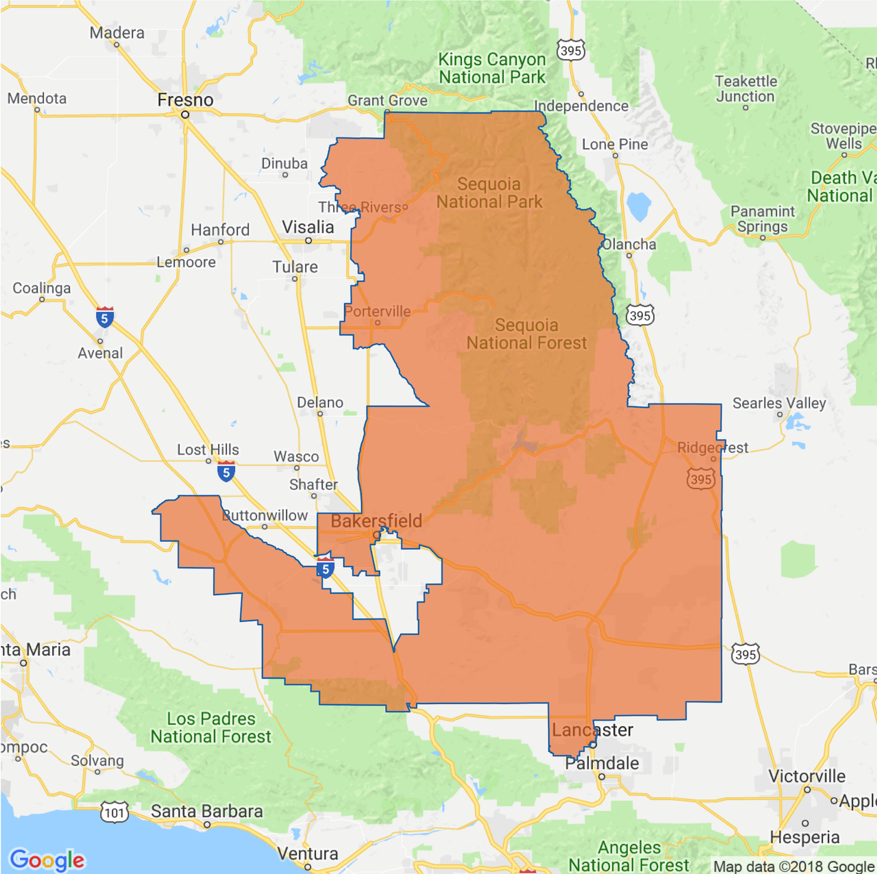 image of Congressional District 23