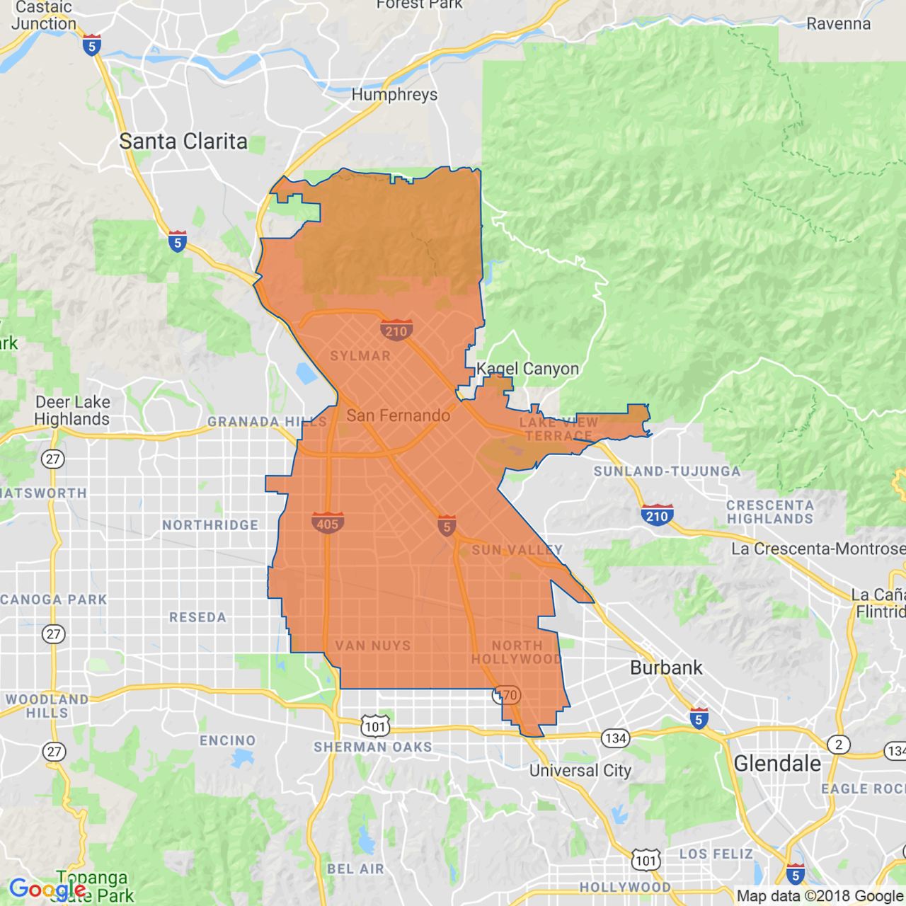 image of Congressional District 29